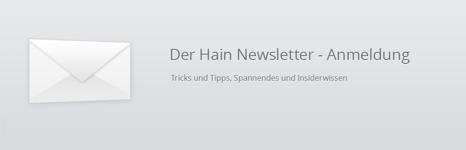 Hain Newsletter